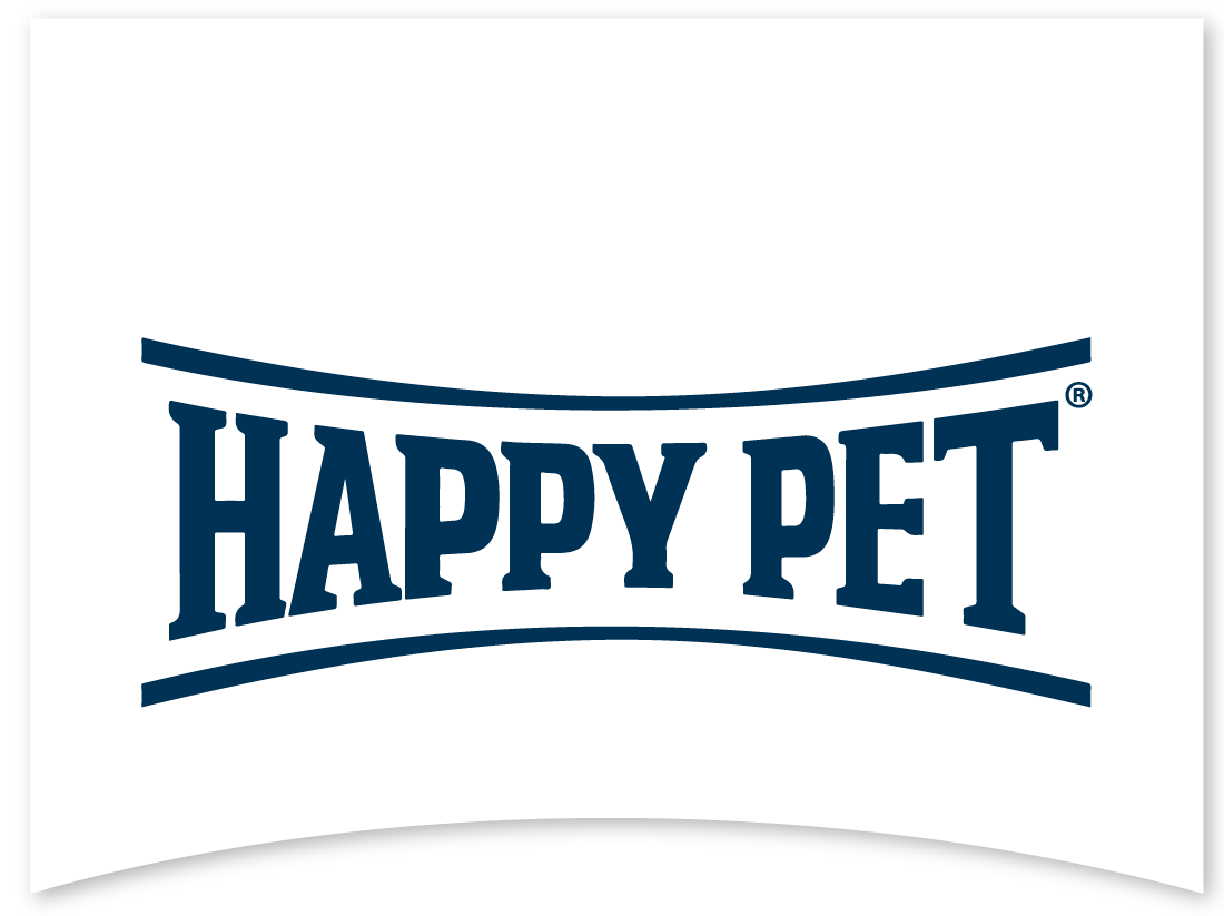 Happy Pet Logo mit Fahne